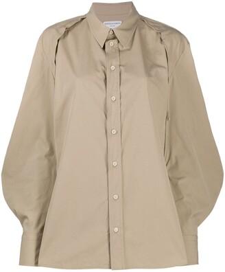 Bottega Veneta Puff Sleeve Shirt
