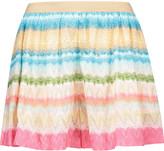Missoni Crochet-knit shorts