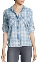 Bella Dahl Long Sleeve Plaid Shirt