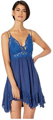 Free People Adella Slip (Blue) Women's Dress