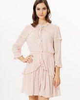 SABA Irena Ruffle Dress