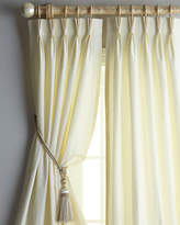 """Eastern Accents Each 48""""W x 108""""L Rod-Pocket Kate Curtain"""
