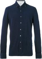 Hackett slim-cut shirt - men - Silk/Cotton - S