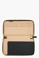 Givenchy Olive leather Pandora zip-around organizer