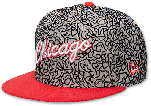 New Era Chicago Bulls NBA Elephant Flock Hat