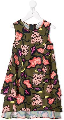 The Marc Jacobs Kids Leaf Print Dress
