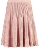 Cream CRISSIE Aline skirt rose dust