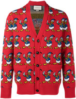 Gucci Donald Duck cardigan - men - Wool - XS