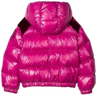 Moncler Kids Pink Puffer Jacket