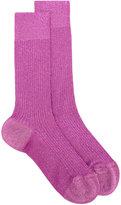 DSQUARED2 lurex ankle socks