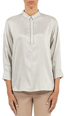 Peserico Striped Blouse