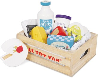 Le Toy Van Cheese & Dairy Market Crate Toy