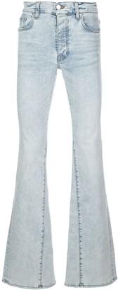 Amiri Denim Bootcut Jeans