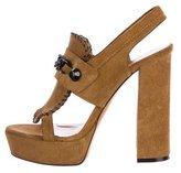 Viktor & Rolf Embellished Platform Sandals