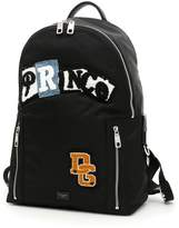 Dolce & Gabbana Nylon Backpack With Prince Patch