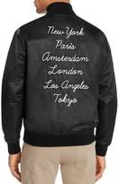 Obey Tour City Satin Bomber Jacket