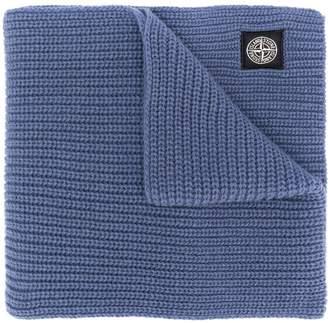Stone Island chunky knit scarf