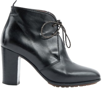 Missoni Black Leather Ankle boots
