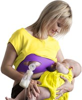 Pump Strap Hands-Free Pumping Bra -Adjustable Breastpump Bra - L - XXL