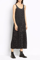 Vince Floral Pleated Dress