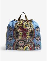 Etro Zainetro printed rucksack