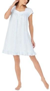 Eileen West Cotton Printed Nightgown