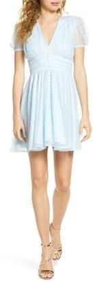 Bardot Bonnie Lace Babydoll Minidress