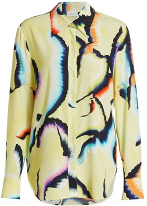 A.L.C. Jayne Silk-Blend Shirt