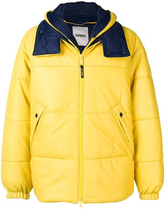 Yves Salomon Padded Hooded Jacket