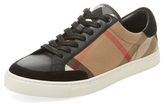 Burberry Intarsia Low Top Sneaker