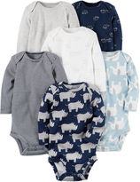 Carter's Boy 6-pk. Bodysuits - Baby