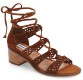 Steve Madden Women's Randee Ghillie Lace Sandal