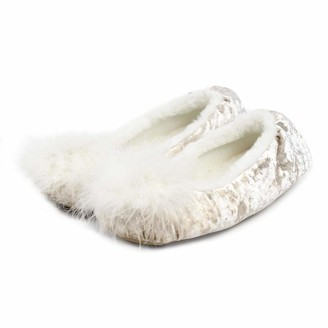 totes Ladies Sparkle Ballet Slippers Women's Low-Top Low-Top Slippers