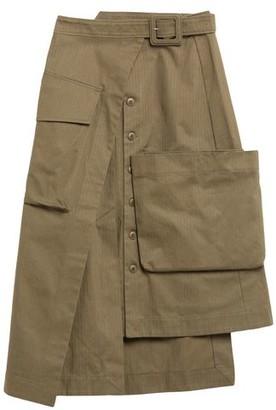 Jacquemus 3/4 length skirt