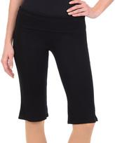 Danskin Rich Black Flare Crop Pants - Women & Petite