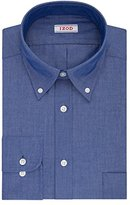 Izod Men's Regular Fit Solid Button-Down Collar Dress Shirt