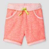 Cat & Jack Toddler Girls' Jogger Shorts Cat & Jack - Sunrise Coral