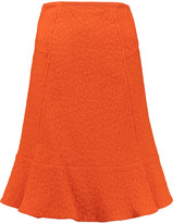 Roland Mouret Hewer fluted cloqué skirt