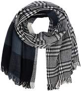 Only Women's Onlofaith Doublesided Check Noos Scarf
