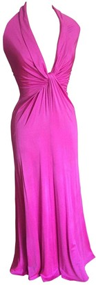 Issa Pink Silk Dress for Women