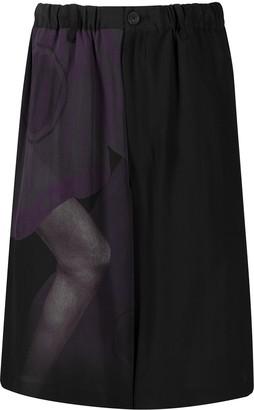 Yohji Yamamoto Loose Fit Shorts