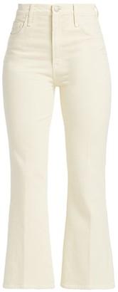 J Brand Julia High-Rise Crop Flare Jeans