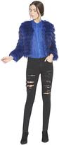 Alice + Olivia Fawn Fur Jacket