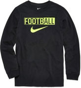 Nike Long-Sleeve Football Shirt - Boys 8-20