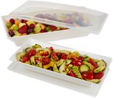 Fit & Fresh Chilled Serving Platters (Set of 2)