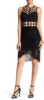 Ark & Co Caged Waist Eyelet Lace Dress