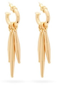 Tohum Maia 24kt Gold-plated Hoop Earrings - Gold