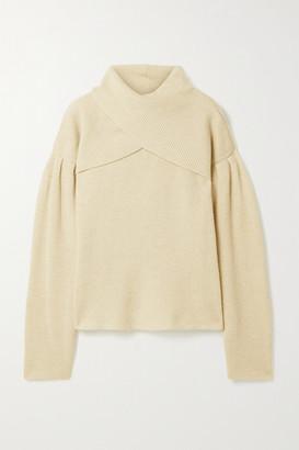 Nanushka Korina Layered Ribbed-knit Sweater