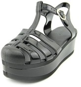 Wanted Jellypop Women Open Toe Synthetic Black Platform Sandal.