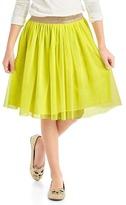 Gap Shimmer waist tulle skirt